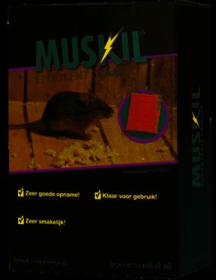 Excellent graan 2 x 25 grams Muskil met gratis lokvoerdoosje