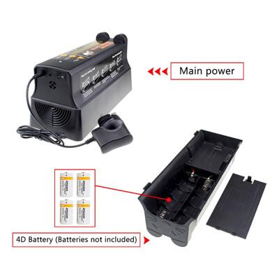 Elektrische muizenval en rattenval met adapter op stroom en batterijen