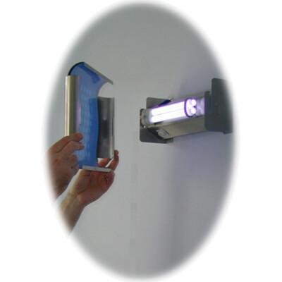 Fly-Shield vliegenlamp met lijmval