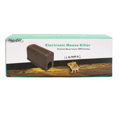 Elektrische muizenval op stroom