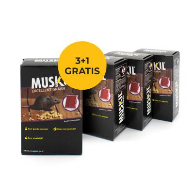 Voordeelpakket Muskil graan 3 + 1 GRATIS